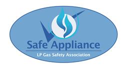 LPGASA Safe Appliance logo